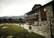 отель Hotel Banguriani in Mestia: Территория отеля