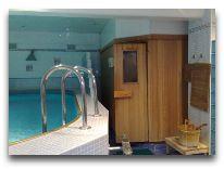 отель База отдыха Национального банка РБ: Бассейн в сауне