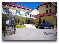 отель Becker: внутренний двор