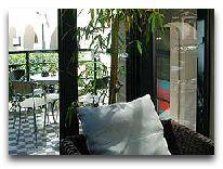 отель Bergs apartments: Летняя терраса