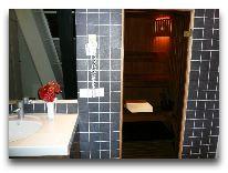 отель Bergs apartments: Сауна