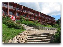отель Bernhard: Вид на отель