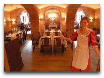 отель Bīriņu Pils: Ресторан