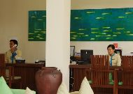 отель Blue Ocean Resort: Reception