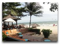 отель Blue Ocean Resort: Чилл - аут на пляже