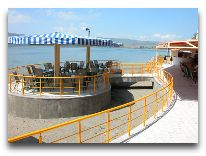 отель Blue Sevan: Летнее кафе