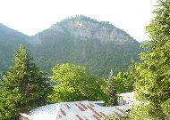 отель Borjomi Palace: Вид из окна