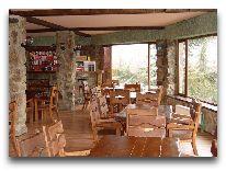 отель Borjomis Kheoba: Ресторан отеля