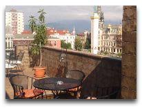 отель Brighton: Веранда-бар на открытой крыше