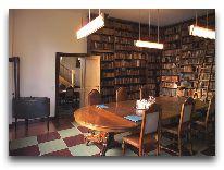 отель Broholm Slot: Библиотека