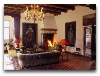 отель Broholm Slot: Каминный зал