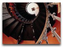 отель Broholm Slot: Лестница замка