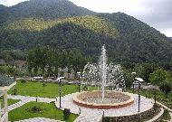 отель Qafqaz Resort: Фонтан