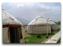 отель Celestial Mountains: Юрты