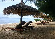 отель Cham Villas Resort: Пляж