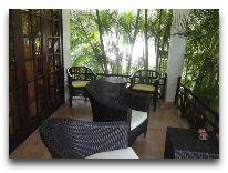 отель Cham Villas Resort: Garden Villa - терраса