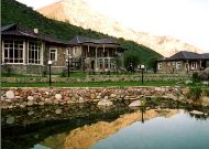 отель Chatcal Mountains: Внутренний двор