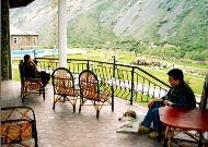 отель Chatcal Mountains: Терраса