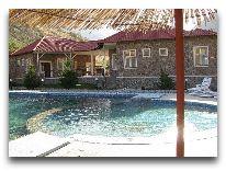 отель Chatcal Mountains: Бассейн открытый