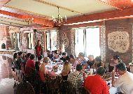 отель Chateau Chikovani: Ресторан