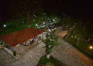 отель Chateau Chikovani: Беседка вечером