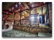 отель Chateau Chikovani: Зал ресторана
