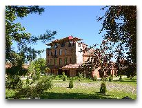 отель Chateau Chikovani: Вид на отель