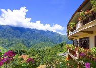 отель Chau Long Sapa Hotel: Вид из отеля