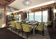 отель Chenot Palace Health Wellness Hotel: Банкетный зал