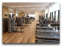 отель Chenot Palace Health Wellness Hotel: Тренажерный зал