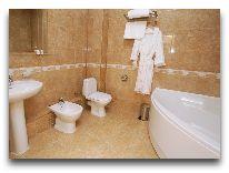 отель Черное Море – Отрада: Номер люкс - ванная
