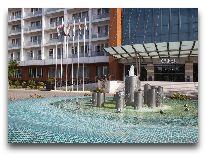 отель CHINAR HOTEL & SPA NAFTALAN: Фонтан
