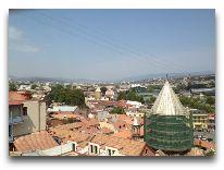 отель Citadel Narikala: Вид из окна