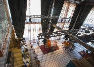 отель Boutique Hotel Baku: Вид с верху на ресторан