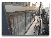 отель Boutique Hotel Baku: Летнее кафе веранда