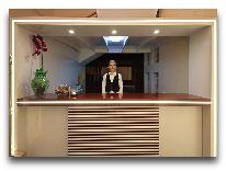 отель City Park Hotel: Ресепшн
