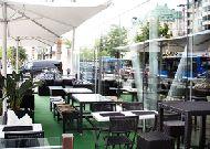 отель Clarion Stockholm: Летняя терраса ресторана