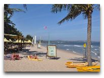 отель Coco Beach Resort: Пляж