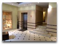 отель Central Vilnius: Холл отеля