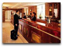 отель Hotel Copenhagen Strand: Ресепшен