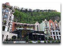 отель Crowne Plaza Borjomi: Фасад отеля