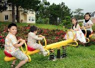 отель Dalat Edensee Lake Resort & Spa Hotel: Детская площадка