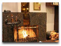 отель Hotel Roma: Каминный зал