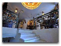отель Deluxe Hotel: Лестница в ресторан