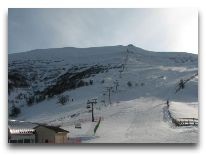 отель Didveli: трасса зимой