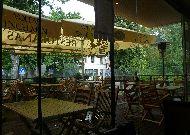 отель Diemedis: Веранда ресторана