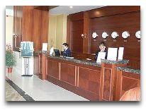 отель Diplomat: Ресепшен отеля