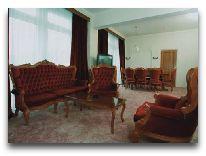 отель Днепр: Гостиная в стандартном люксе
