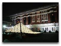 отель Dostyk: Фасад отеля