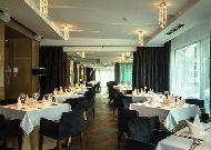 отель Druskininkai: Ресторан отеля